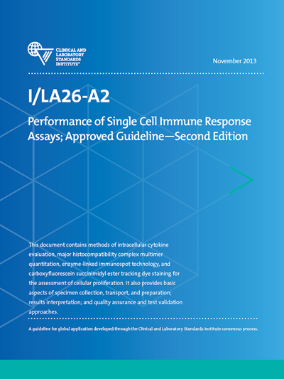 Performance of Single Cell Immune Response Assays, 2nd Edition