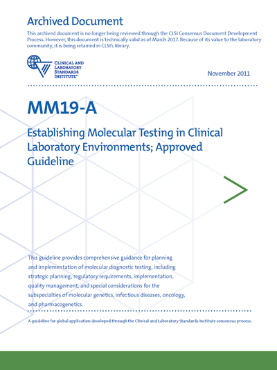 Establishing Molecular Testing in Clinical Laboratory Environments, 1st Edition